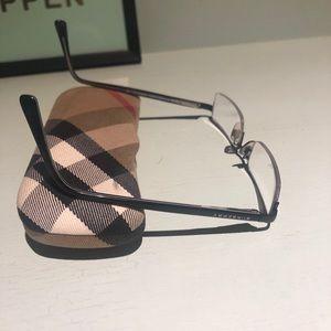 Burberry eyeglasses.